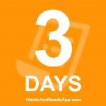 3 Days!