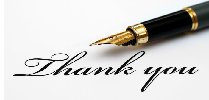 Thank You - Accessing the Power of Gratitude